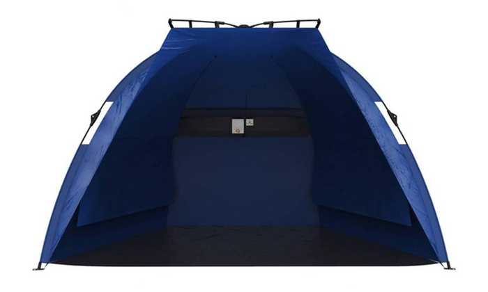 ... Pop-Up Beach Tent with UV Protection Pop-Up Beach Tent with UV ...  sc 1 st  Groupon : beach tents pop up - memphite.com