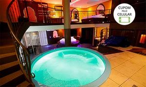 Motel P90: Motel P90: pernoite nas suítes VIP ou VIP árabe para 2 ou festa Ilhas Gregas ou VIP voyeur para 6 ou até 16