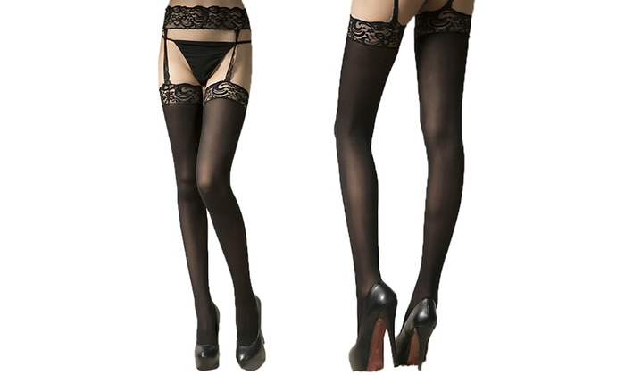 9a023a69b Suspender Tights Garter Belt