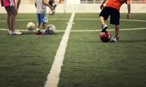 Total Soccer Arena: One Month of Intro-Level Indoor Soccer Training for One or Two Children at Total Soccer Arena (Up to 46% Off)