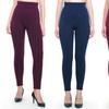 Women's Empire Waist Tummy Compression Control Top Leggings