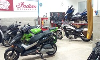 Revisión para motos con cambio de aceite desde 19,95 € en 66 Motos