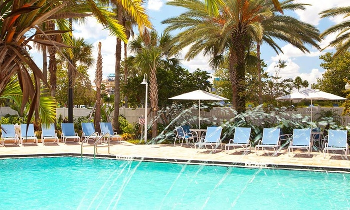 null - Tampa Bay Area: Stay at Four Points by Sheraton Orlando Studio City in Orlando, FL. Dates Available into June.