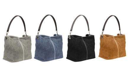Carla Belotti Leder-Handtasche (Sie sparen: 72%)
