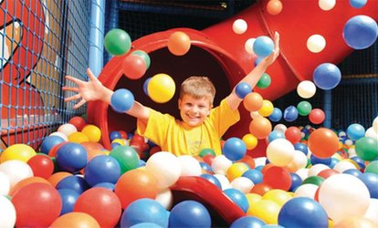 image for One or Three 90-Minute Soft Play Sessions for One or Two Children at Hatfield Kids Funzone (Up to 70% Off)