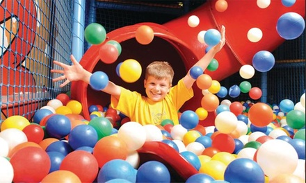 One or Three 90-Minute Soft Play Sessions for One or Two Children at Hatfield Kids Funzone (Up to 70% Off)