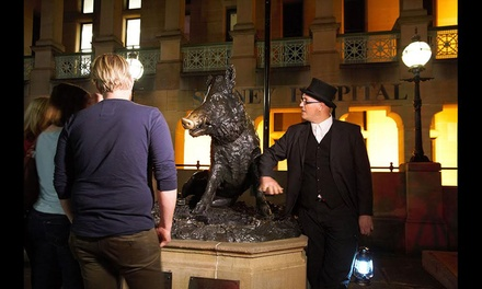 90Minute Macquarie Street Ghost Tour for One $17, Two $33 or Four People $65 with Ghost Tours Up to $104 Value