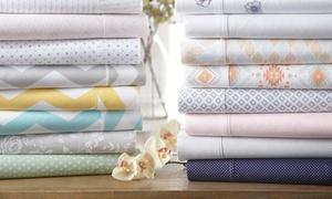 Merit Linens Premium Ultra Soft Printed Bed Sheet Set