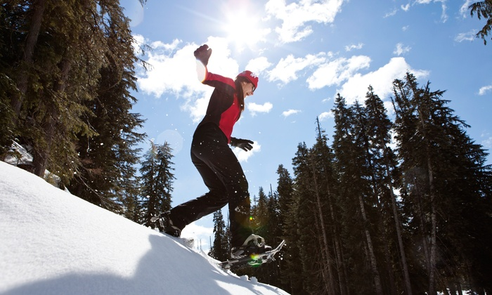 Ski Callaghan - Whistler: Snowshoeing for Two or Four Adults at Ski Callaghan (Up to 50% Off)