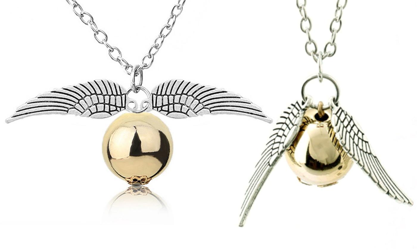 One or Two Double-Winged Necklaces