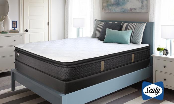Up To 78% Off on Sealy Pillow-Top Mattress Set | Groupon Goods