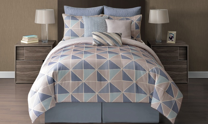 9- and 10-Piece Reversible Comforter Sets: 9- and 10-Piece Reversible Comforter Sets. Multiple Options Available. Free Returns.