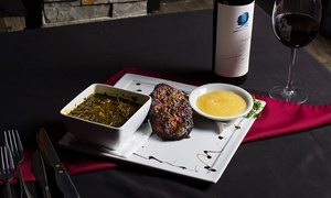 The Carolina Strip Club: Steakhouse Dinner with Wine for Two at The Carolina Strip Club (Up to 32% Off). Two Options Available.