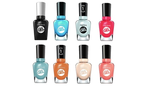 Set of Six Sally Hansen Miracle Gel Nail Polish