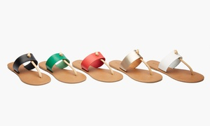 Sociology Women's Thong Sandals (Sizes 8 thru 10)