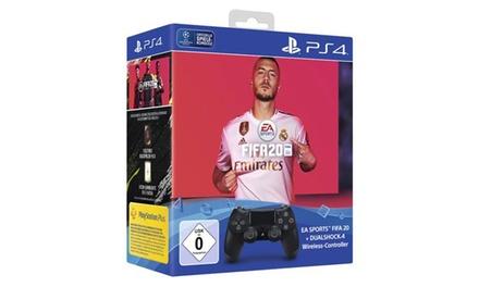 Pack manette PS4 avec Fifa 20