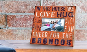 """NFL In This House 10""""x10"""" Picture Frame"""