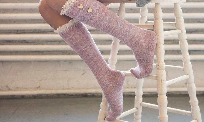 Muk Luks Women's Knee-High Fashion Socks (3-Pack)