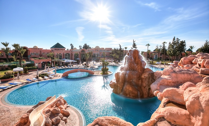 Marrakech : 1 à 6 nuits avec petit déjeuner ou demi pension à l'Hôtel Marrakech Le Sangho Privilège pour jusqu'à 4 pers.