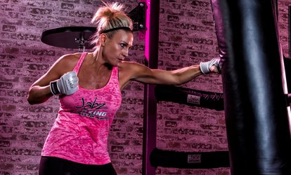 image for 10 Fitness Classes or a Month of Unlimited Fitness Classes at Jabz <strong>Boxing</strong> Fitness for Women (Up to 83% Off)