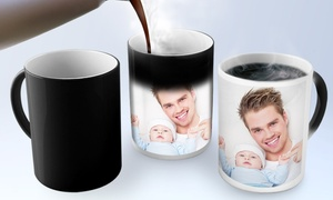 PrinterPix: Custom Photo Mugs and Magic Photo Mugs from $5 by PrinterPix (Up to 80% Off)