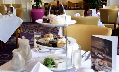 image for Afternoon Tea for Two or Four with Optional Prosecco or Cocktails at The Angel Hotel Cardiff
