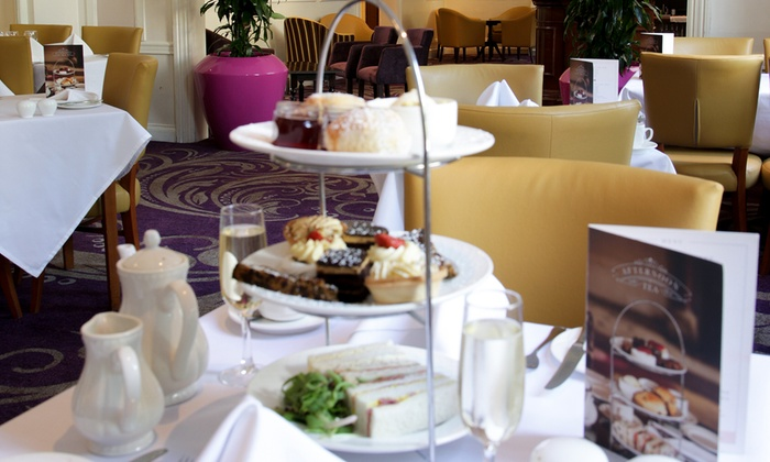The Angel Hotel Cardiff - Cardiff: Afternoon Tea for Two or Four with Optional Prosecco or Cocktails at The Angel Hotel Cardiff
