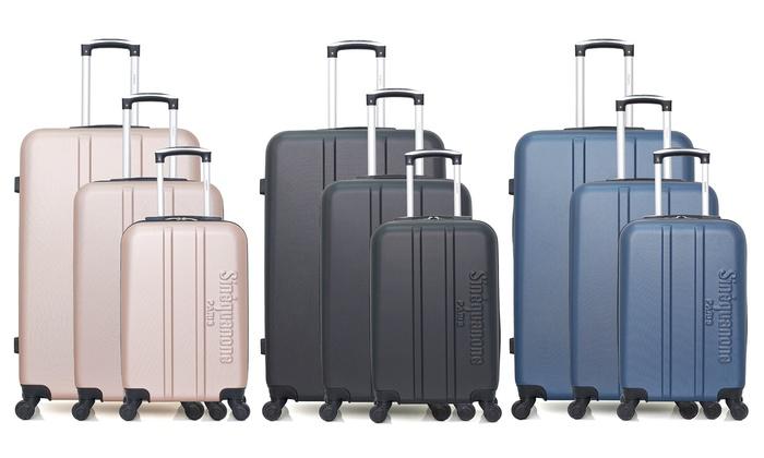 Three-Piece Olympe Luggage Set