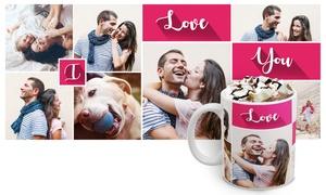 Printerpix (UK): Personalised Photo Collage Mug from Printerpix (50% Off)