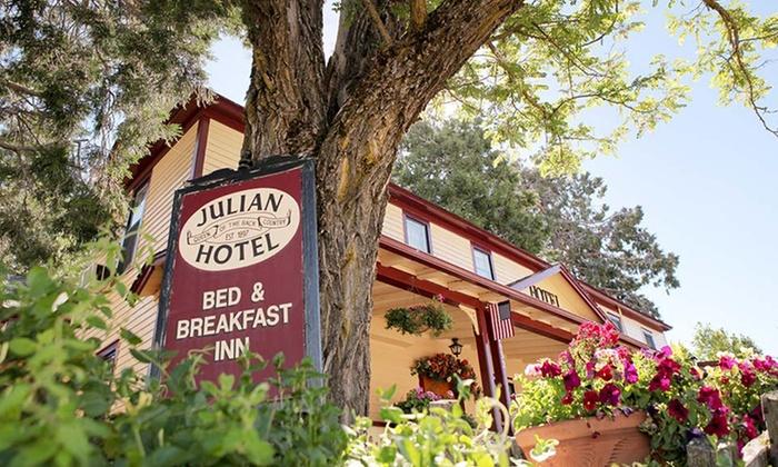 The Julian Gold Rush Hotel - Julian, CA: 1-Night Stay for Two at The Julian Gold Rush Hotel in Julian, CA