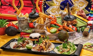 AED 100 Toward Food and Drink