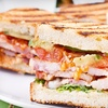 53% Off Panini Meal for Two at Travel Mug Cafe