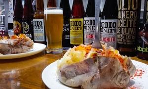 Ordio Minero: Degustación de 6, 10 o 20 cervezas con tapeo para 2 o 4 personas desde 12,90 € en Ordio Minero
