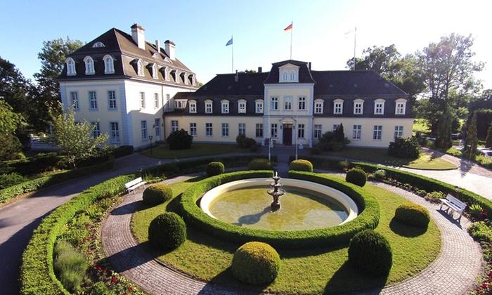 Schlosshotel Gross Plasten - Groß Plasten: Mecklenburgische Seenplatte: 2-5 Nächte für 2 , Nutzung Wellnessbereich, opt. Dinner, im Schlosshotel Gross Plasten