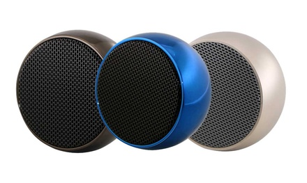 TechComm Mini Mesh Wireless Portable Bluetooth HiFi Speaker