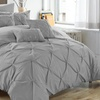 Chic Home Sabrina Pinch Pleat Comforter and Sheet Set (10-Piece)