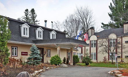 Groupon Deal: 1- or 2-Night Stay for Up to Four in a Suite at Hotel Relais St. Denis in Saint Sauveur, QC