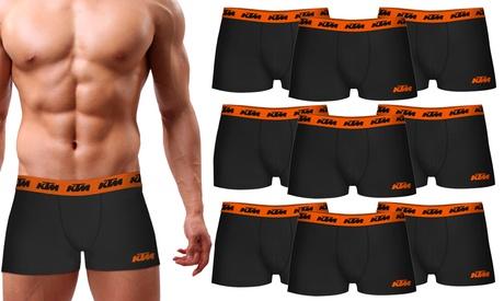 Pack de 6 o 9 boxers KTM