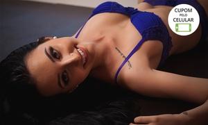 Galtieri Oliveira Produções: Galtieri Oliveira Produções – Água Verde: ensaio sensual em estúdio com 15 fotos em DVD