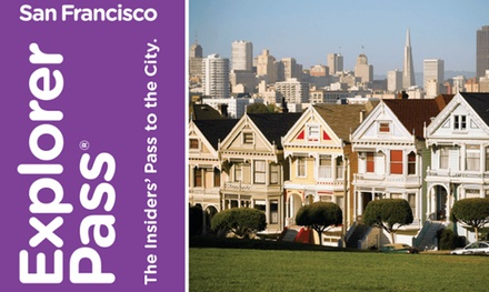 San Francisco Explorer Pass: Choice of 3 or 4 Activities with Priority Access for Adults and Children