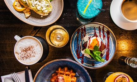TwoCourse Brunch with Bottle of Prosecco for Two or Four at Aluna