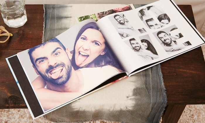 Collage.com: Personalized Photo Book, Canvas, Blanket, or All Three from Collage.com (Up to 82% Off)