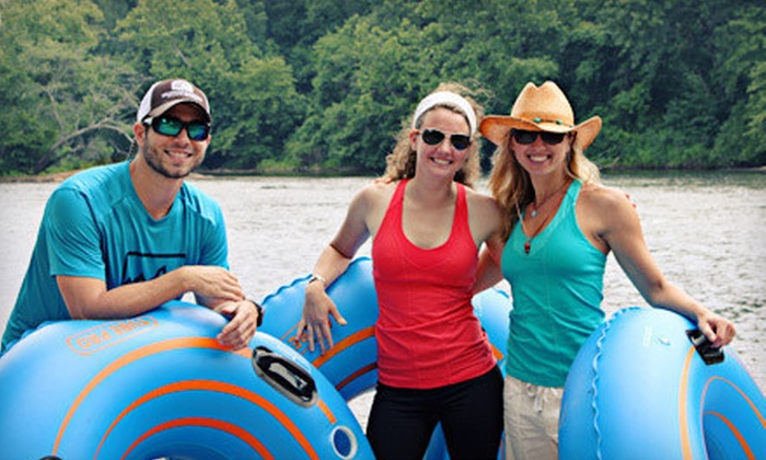High Country Outfitters - Sandy Springs: Three- to Four-Hour Chattahoochee River Tubing Trip for Two, Four, or Eight from High Country Outfitters (Up to 63% Off)