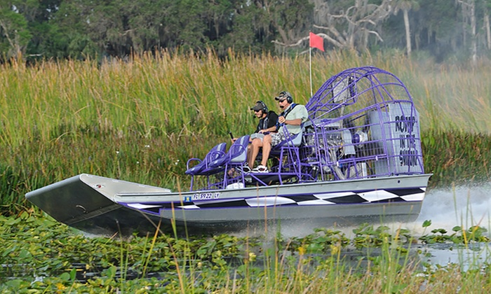 Boggy Creek Airboat Rides Up To 22 Off Kissimmee Fl