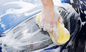Zoom Clean: Three or Five Exterior Car Washes or Deluxe Car-Wash Package at Zoom Clean (Up to 54% Off)