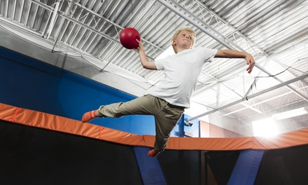 Open Jump Passes, Family Night, SkyJam Jumps, or Glow Night at Sky Zone Boston (Up to 41% Off)