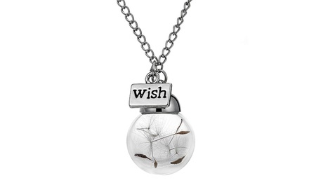 Dandeline Wish Necklace for AED 49 (55% Off)