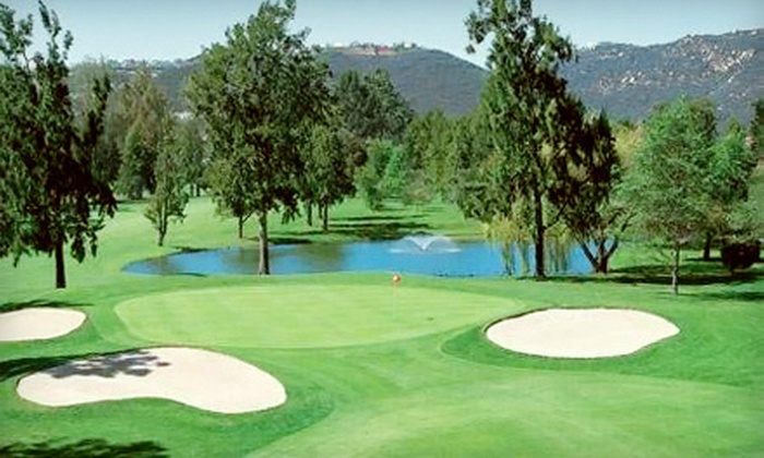 Escondido Country Club - Escondido: Round of Golf and Lunch for Two or 10 Buckets of Range Balls at Escondido Country Club (Up to 65% Off)