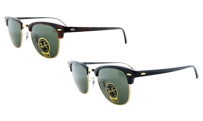 d55f4745827 Up To 60% Off on Ray-Ban Clubmaster Sunglasses