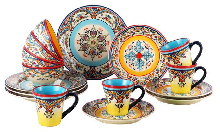 Zanzibar Dinnerware Set (16-Piece)